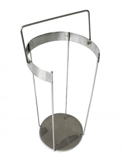 Корзина нерж. для переноски стеклянных чашек Петри