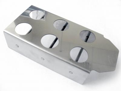 Подставка нерж. для тиглей, диаметр отверстий 28 мм