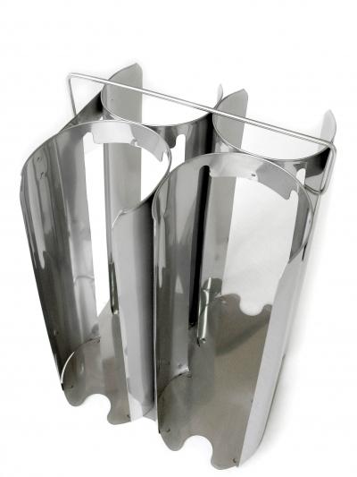 Корзина нерж. для переноски пластиковых чашек Петри
